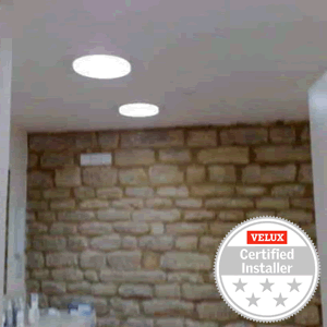Install sun tunnels to add daylight to windowless rooms